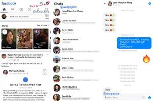 Facebook тества вграждането на Messenger обратно в главното си приложение