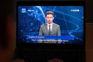 Китай започна да експортира виртуални телевизионни водещи