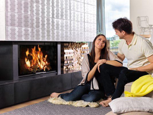Жив огън в апартамент – възможно с помощта на Schiedel