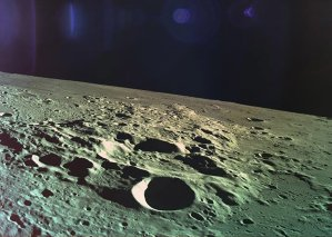 Това е последната снимка на Луната преди падането на израелската сонда