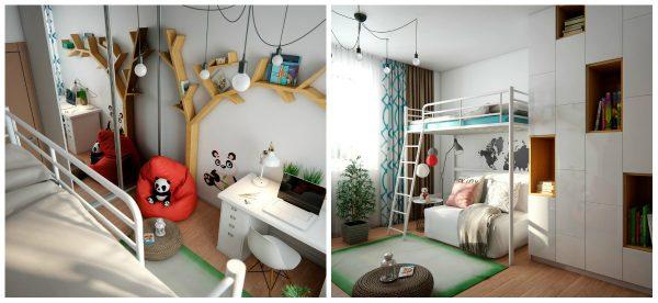 Интересен проект за детска стая за 10 годишно момиче