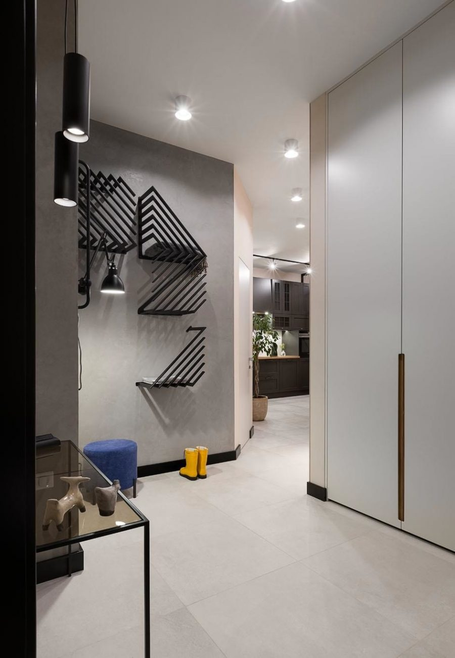 Малък, но просторен апартамент в Киев [49 м²]