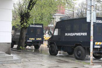 """Жандармерията чака на протестното шествие в Габрово """"гости на града"""""""