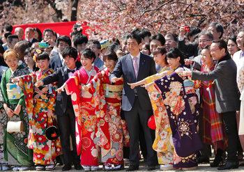 Снимка на деня: Под японските вишни