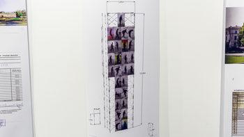 Временна дигитална кула ще постави общината на мястото на мавзолея