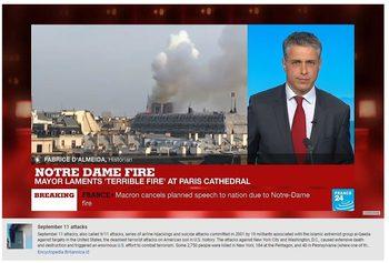 """Защо """"Ютюб"""" даваше информация за 11 септември под клипове за пожара в """"Нотр Дам"""""""