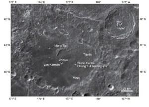 Китайският луноход Юйту-2 откри минерали на обратната страна на Луната