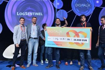 LogSentinel спечели стартъп състезанието на DigitalK 2019