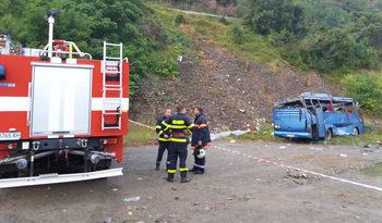 Роднини на загинали в катастрофата край Своге са получили по 10 лв. обезщетение