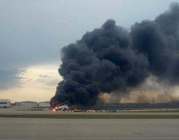 Няма данни за пострадали българи при авиокатастрофата в Москва, 41 са загиналите