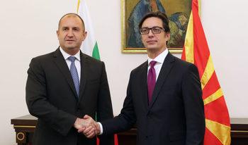 България подкрепя Северна Македония за ЕС, но при определени условия, каза Радев