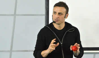 От футболист до вдъхновител, или какъв пример даде Бербатов на студенти