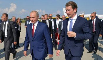"""Газ, банки и връзка с Путин – как Австрия осребрява ролята на """"мост между Изтока и Запада"""""""