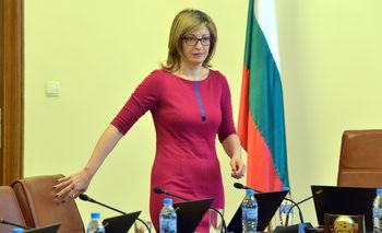 Фалшива новина е, че правителството се страхува от избора на европейски прокурор, каза Захариева