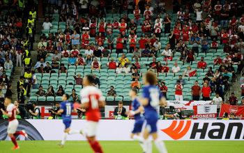 Властите в Баку пуснали свободен вход по време на финала в Лига Европа