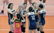 Женската волейболна Лига на нациите с кулминация в Нандзин
