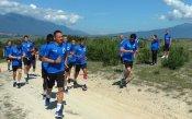 Левски проведе възстановителна тренировка в Банско