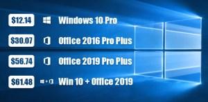 Нови оферти за продуктови ключове за Windows 10 1903 и за друг софтуер