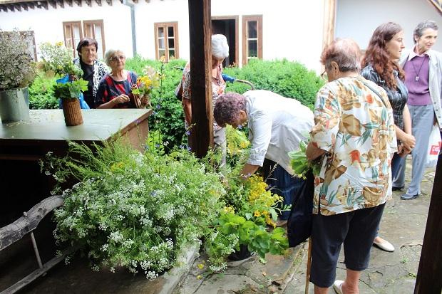 В Севлиево посрещнаха Еньовден с ароматни билки и песни