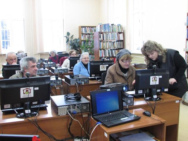 Ново обучение в Библиотеката за работа в интернет