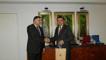 Областният управител на Плевен се срещна с румънския народен представител Еуген Първулеску