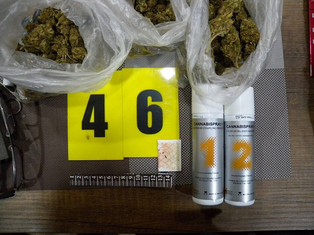 Паникьосан изхвърли 11 гр канабис пред погледите на полицаи