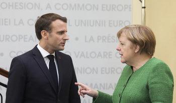 Макрон би подкрепил Меркел, ако тя реши да се кандидатира за висш пост в ЕС