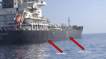 """САЩ публикуваха """"доказателство"""" за ролята на Иран в атаката срещу танкерите (видео)"""