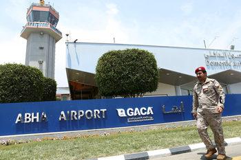 Саудитски летища отново бяха обстреляни с дронове на бунтовниците в Йемен