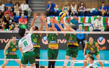 Волейболистите измъкнаха изстрадана победа над Австралия във Варна