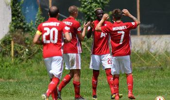 Видео: ЦСКА взе с лекота първия си мач на австрийска земя