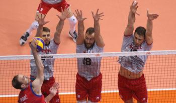 Разгром от Сърбия беляза последния мач на волейболистите в Лигата на нациите