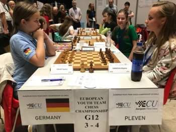 """Двата отбора с името """"Плевен"""" са водачи във временното класиране на Европейското по шахмат в Чехия"""