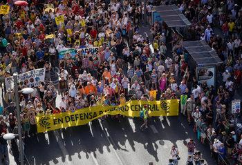 Отмяната на нискоемисионната зона в Мадрид отново предизвика протестна акция