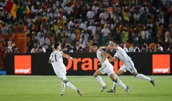 С един удар Алжир спечели Купата на африканските нации