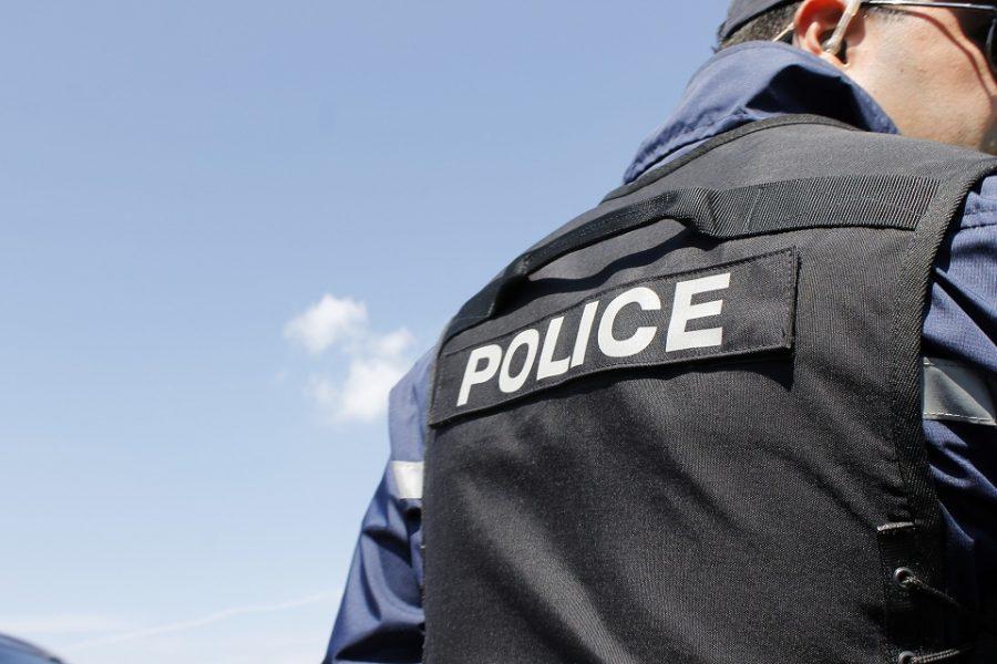 Жандармерия и полиция с акция в Габрово