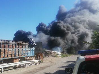 """Пътната агенция ще подаде сигнал до прокуратурата за пожара на """"Струма"""" край Дупница"""