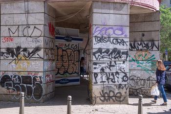 Столичната община готви мерки срещу графитите