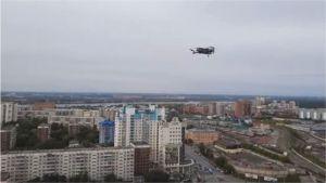 Руски активист скри с помощта на дрон доказателства от полицията