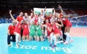 Волейболистките ни вече са седми в Европа
