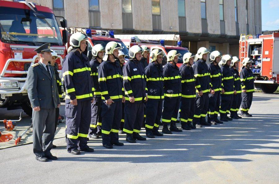 Пожарната в Габрово с демонстрация за Празника