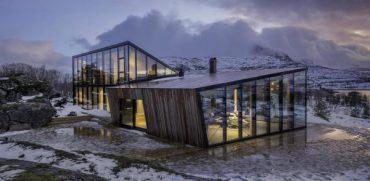Прекрасна ваканционна къща в Ноервегия