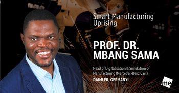 Лекторите на Industry 4.0: Проф. д-р Сама Мбанг
