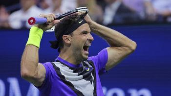 Григор Димитров е на полуфинал на US Open след паметна победа над Федерер