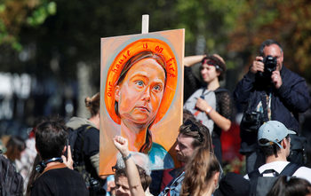 "Грета Тунберг взе ""алтернативната Нобелова награда"""