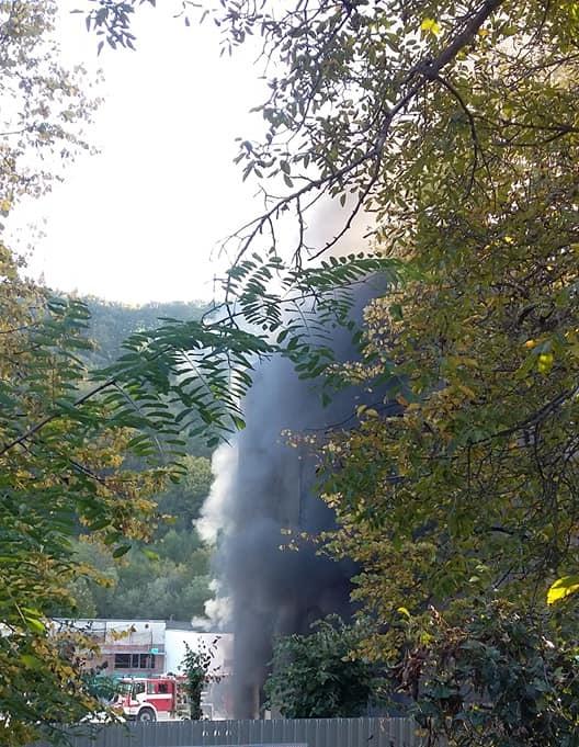 Голям пожар в Габрово (снимки)