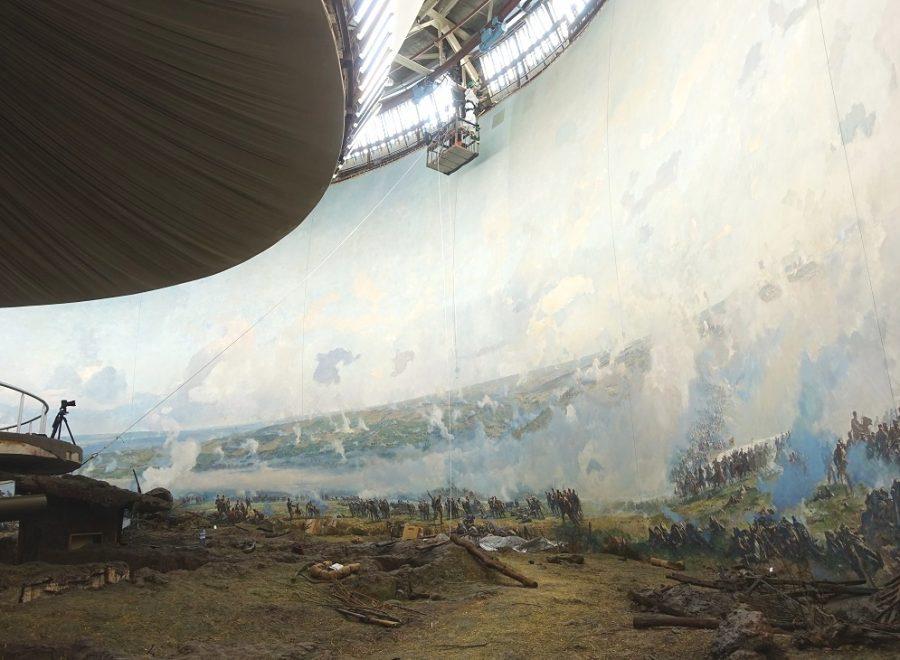 """Приключи реставрацията на Панорамата със средства от кампанията """"Ние обичаме България"""""""