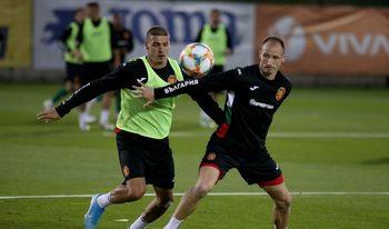 Красимир Балъков вижда положително развитие в националния отбор