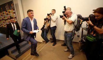 Фотогалерия: Последният работен ден на Борислав Михайлов в БФС