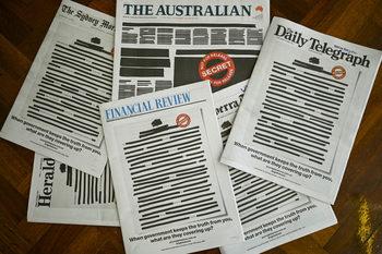 """""""Човек беше осъден за нещо"""": защо протестират австралийските медии"""